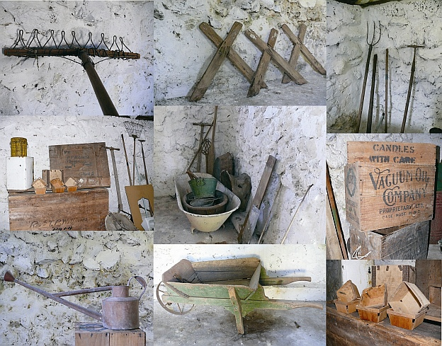 Williams House Paihia - some of the Stone Shed artefacts